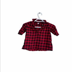 Old Navy Baby Checkered Plaid Top